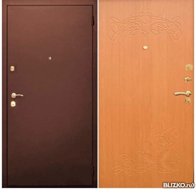 входная дверь металлическая 860