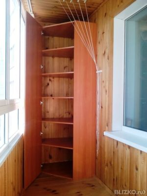 Изготовление шкафов на балконах и лоджиях от компании бюро д.