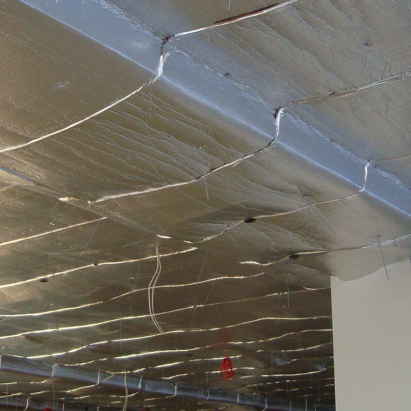 виды утеплителей для потолка