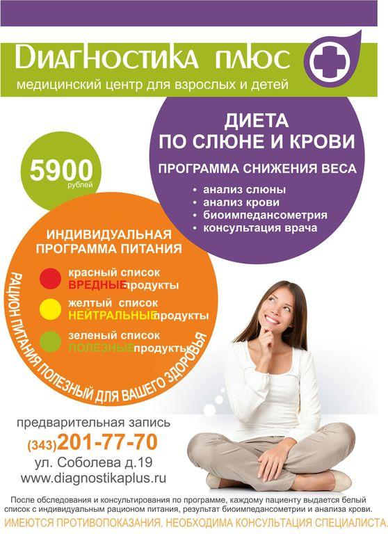 Центр Диагностики Похудения. Лучшие российские клиники похудения