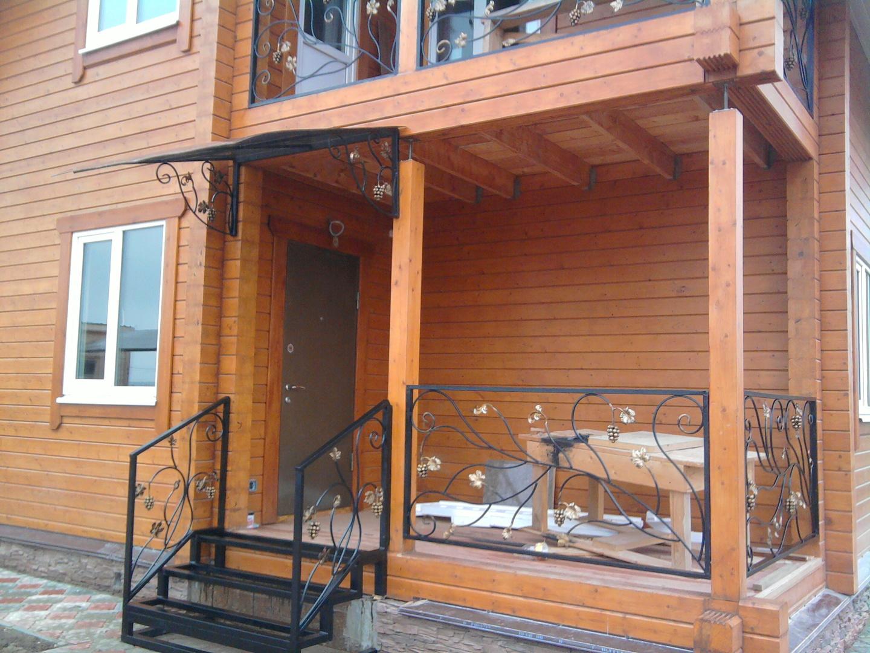 деревянный балкон крыльцо фото имеет