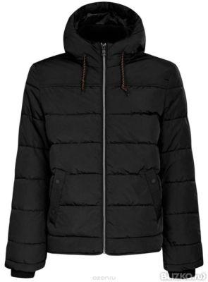 18b5b0959a8d Куртка мужская oodji Basic, цвет  черный. 1B112006M 39877N 2900N. Размер L